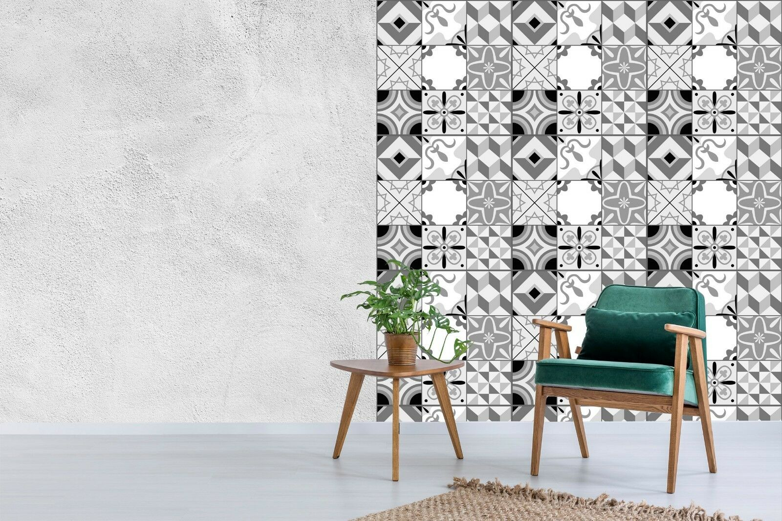 3D grau Pattern 704 Wall Paper Print Wall Decal Deco Indoor Wall Murals US