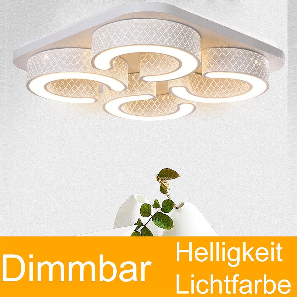 24 48w Dimmerabile pieno Design LED Plafoniera Lampada Lampada Lampada da Soffitto Telecomando Soggiorno adb9d4