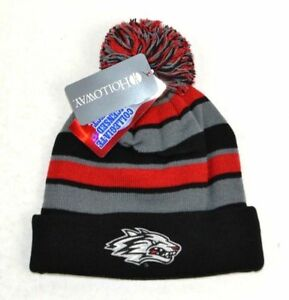 6e398146b8d Image is loading New-NCAA-New-Mexico-Lobos-Comeback-Beanie-One-