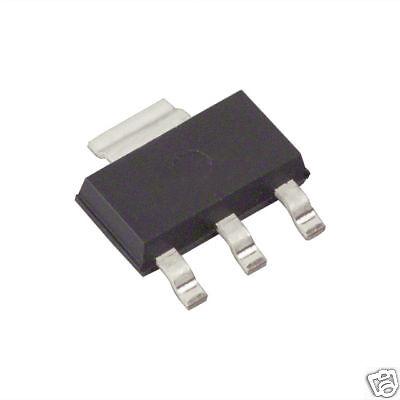 10x FZT651 NPN Silicon Transistors 60V  3A SMD Zetex