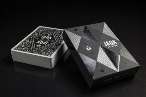 Black JAQK Limited Edition Playing Cards Deck By Theory11 Brand New Rare