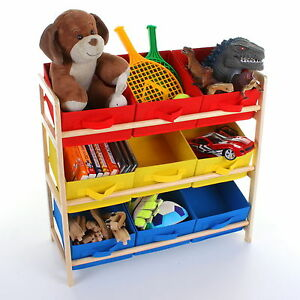 Image Is Loading Childrens Toys Storage Unit Kids Shelf 3