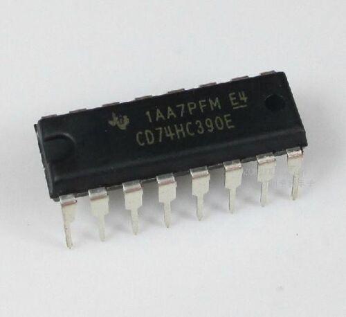 5PCS original DIP-16  74HC390 HC390 DIP16 chip IC