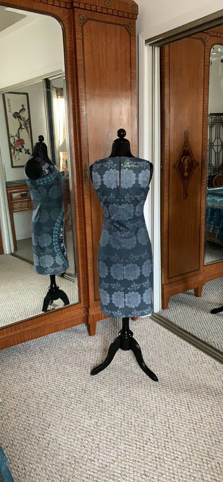 Desigual By Christian LaCroix Sheath Sheath Sheath Dress Sz S 393b8c