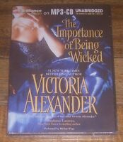 The Importance Of Being Wicked By Victoria Alexander 2013 Mp3-cd Unabridged