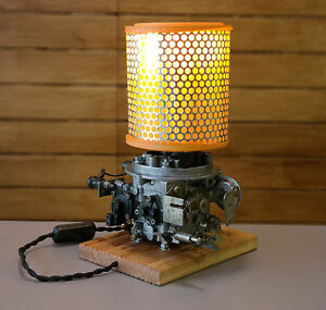 Image Is Loading Table Lamp From Recycled Vintage Retro Car Parts