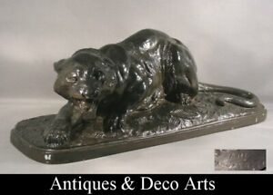 Art-Deco-Terracotta-Panter-Panther-Terre-Cuite-Antonio-Amorgasti-1880-1942