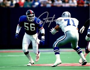 Lawrence-Taylor-autographed-signed-NFL-New-York-Giants-8x10-photo