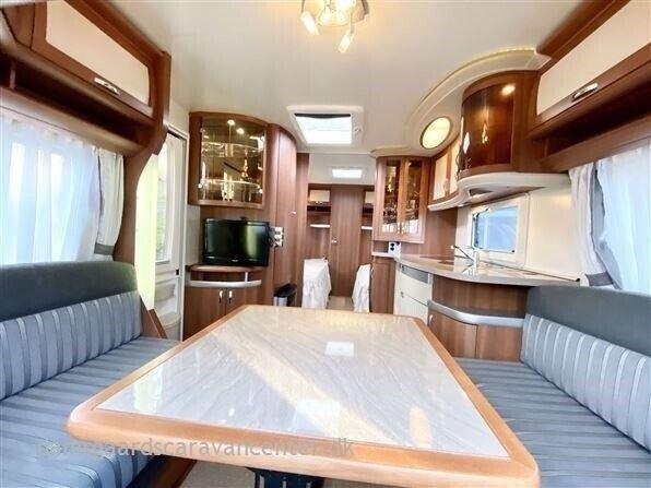 Hobby Prestige 560 WLU, 2011, kg egenvægt 1370