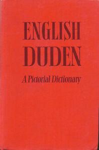 Duden Anglais Dictionnaire En Images 25000 Mots 368 Tableaux De 900 Pages Ebay