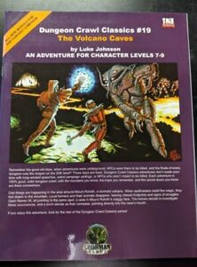1x-Dungeon-Crawl-Classics-19-The-Volcano-Caves-Used-Good-dungeon-crawl-Classic