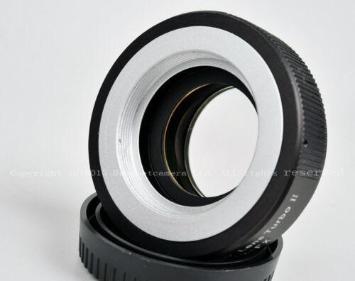 Fujifilm FX Xpro2 XT1 XT20 XT2 Mitakon Reducer Adapter Turbo Focal II M42 Mount