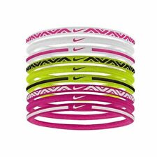 Buy Nike Sport Hairbands 9 Pack Hair Ties Bands Pink Volt online  08be9ab484e