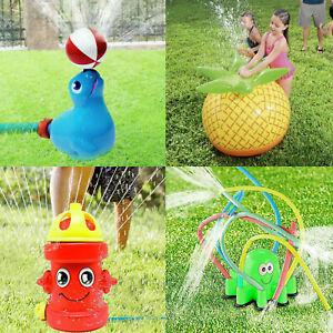 Kinder Wasser Sprinkler Rasen Zerstäuber Sommer Garten Spielzeug