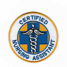 Certified Nursing Assistant Patch Iron on Badge First Aid Nurse Costume CPR AED