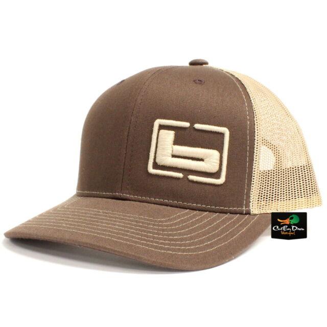 65abea4c928 BANDED Gear Trucker Cap Hat Brown Khaki W