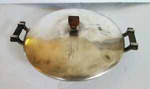 Antique Standard's Co of Toronto Silver Plate 4 Piece Covered Serving Dish
