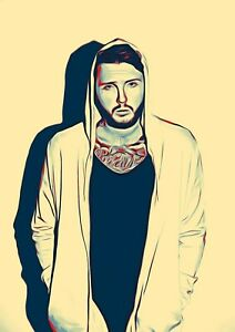 JAMES-ARTHUR-Poster-Print-A5-A4-A3-A2-option-260gsm