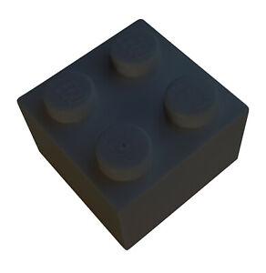 Lego-50-Stueck-Stein-2x2-in-schwarz-3003-Neu-schwarze-Steine-Baustein-Basics