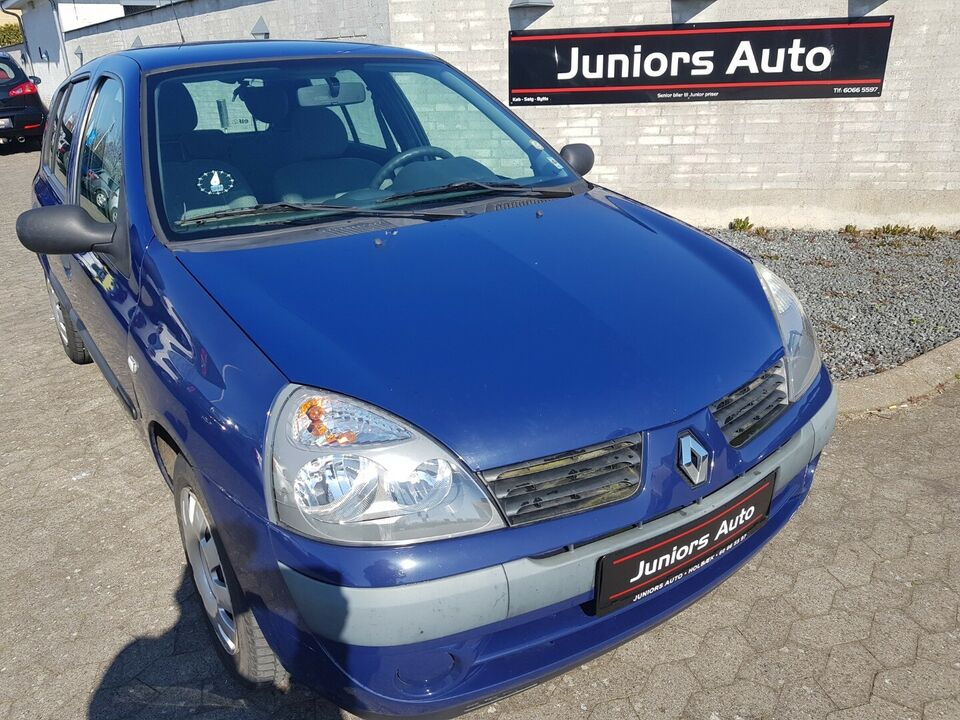 Renault Clio II 1,2 8V Basic Benzin modelår 2006 km 112000