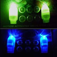LED TIRE LIGHT WHEEL NEON TYRE STEM VALVE CAPS CAR BIKE TIRE BICYCLE MOTORCYCLE