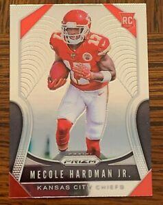 2019 Panini Prizm  Mecole Hardman #345 Rookie Kansas City Chiefs Super Bowl