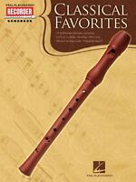 Classical Favorites Hal Leonard Recorder Songbook Recorder Book 000710055