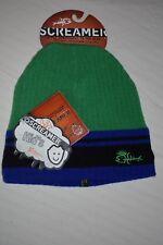 c762571c8e0 item 4 New Screamer Boy s Kid s Mohawk Dude Beanie Hat Green Blue Black  Stripe One Size -New Screamer Boy s Kid s Mohawk Dude Beanie Hat Green Blue  Black ...