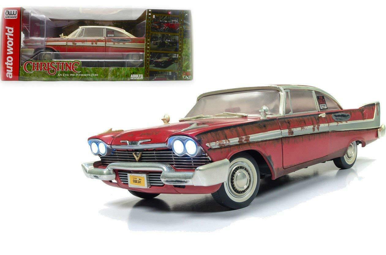 Auto  World 1 18 Christine 1958 Plymouth Fury Dirty For Sale Version AWSS119  mode