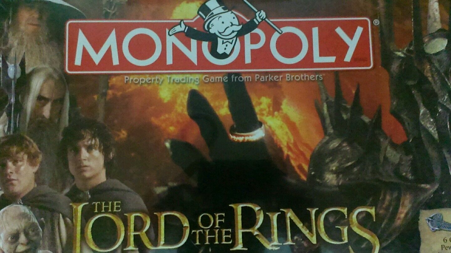 Nouveau monopole Lord of the Rings Collectors Edition 2005
