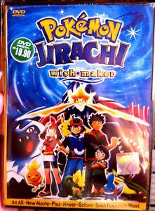 Pokemon The Movie Jirachi Wish Maker Dvd All Region English