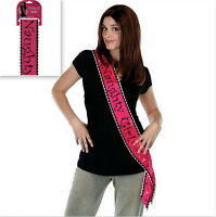 Bachelorette Fun Naughty Girl Satin Sash - 60189
