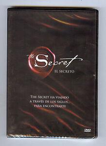 El Secreto-Versión En Español De El Secreto-Nuevo Sellado De Fábrica Dvd