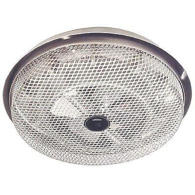 Broan Wire Element Surface Heater Ceiling Mount Bathroom Bath 1250W Built-in Fan
