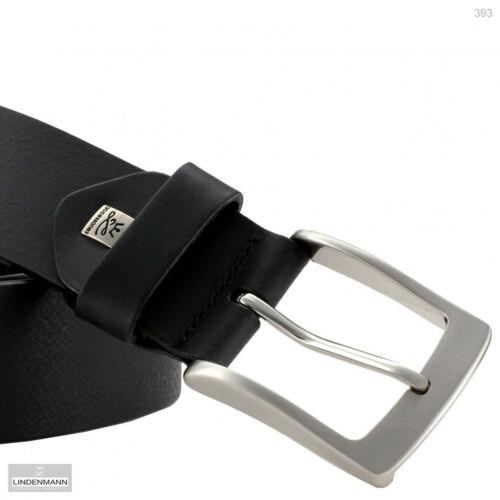 4 cm de large-peuvent être raccourcies//393 Lindenmann vachette cuir ceinture jusqu/'à 170 cm tour de taille