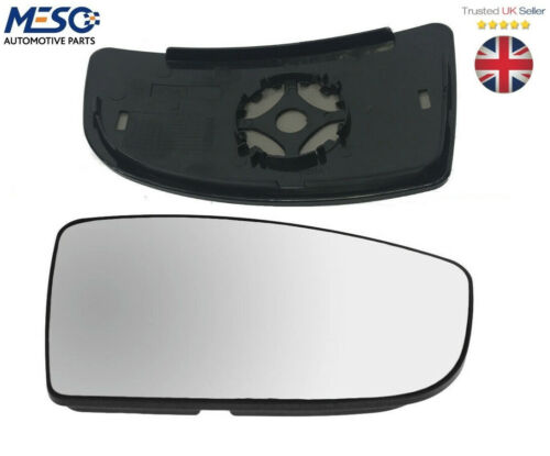 SMALL LOWER DOOR WING MIRROR GLASS FITS FORD TRANSIT MK8 MK9 2014 ON RIGHT HAND