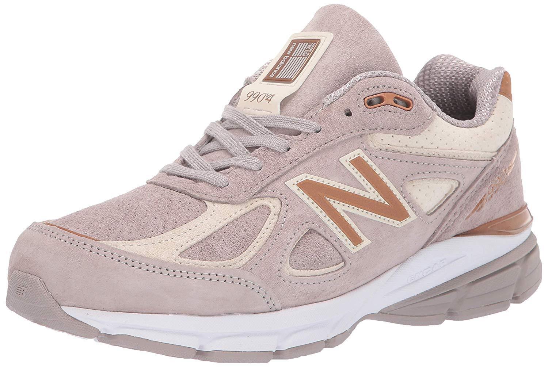 New Balance W990FA4  Women's 9904 Flat White Alabaster Running Sneakers