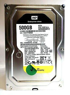 """WD WD5003ABYZ Enterprise RE 500Gb 3.5/"""" SATA Hard Drive"""