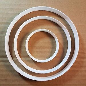 Circle Bubble Round Shape Cookie Cutter Dough Biscuit Pastry Fondant Sharp SL