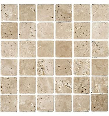 Verona Mosaic Tile (36pc Sheet), Beige