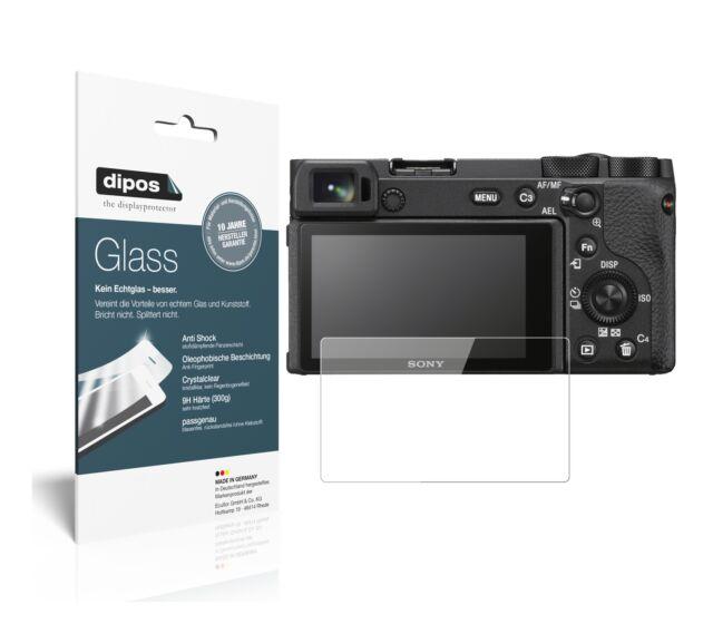 2x Sony Alpha 6600 Protector de Pantalla Vidrio Flexible Cristal Proteccion 9H