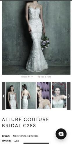 ALLURE BRIDALS C288 ALLURE COUTURE WEDDING DRESS