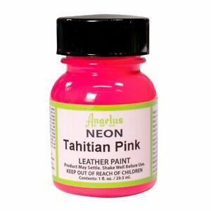 Angelus Tahiti Pink (121)  Acryl Lederfarbe 29,5ml (20,17€/100ml) Leder Farben