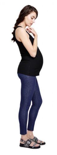 $158 NEW L//12 Hatch Maternity Women's THE DENIM LEGGING Pants Size 3