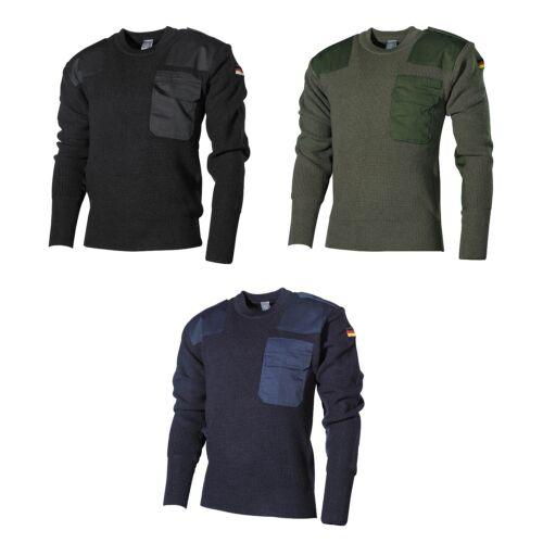 Sweatshirt Sweatshirt Bundeswehr Seno Troyer Pullover Sweater Bw pocket flag qxwFwXgH
