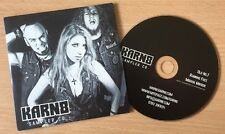 KARN8 - Sampler CD - RARE VGC 3-track CD 2010 - FAST UK POST