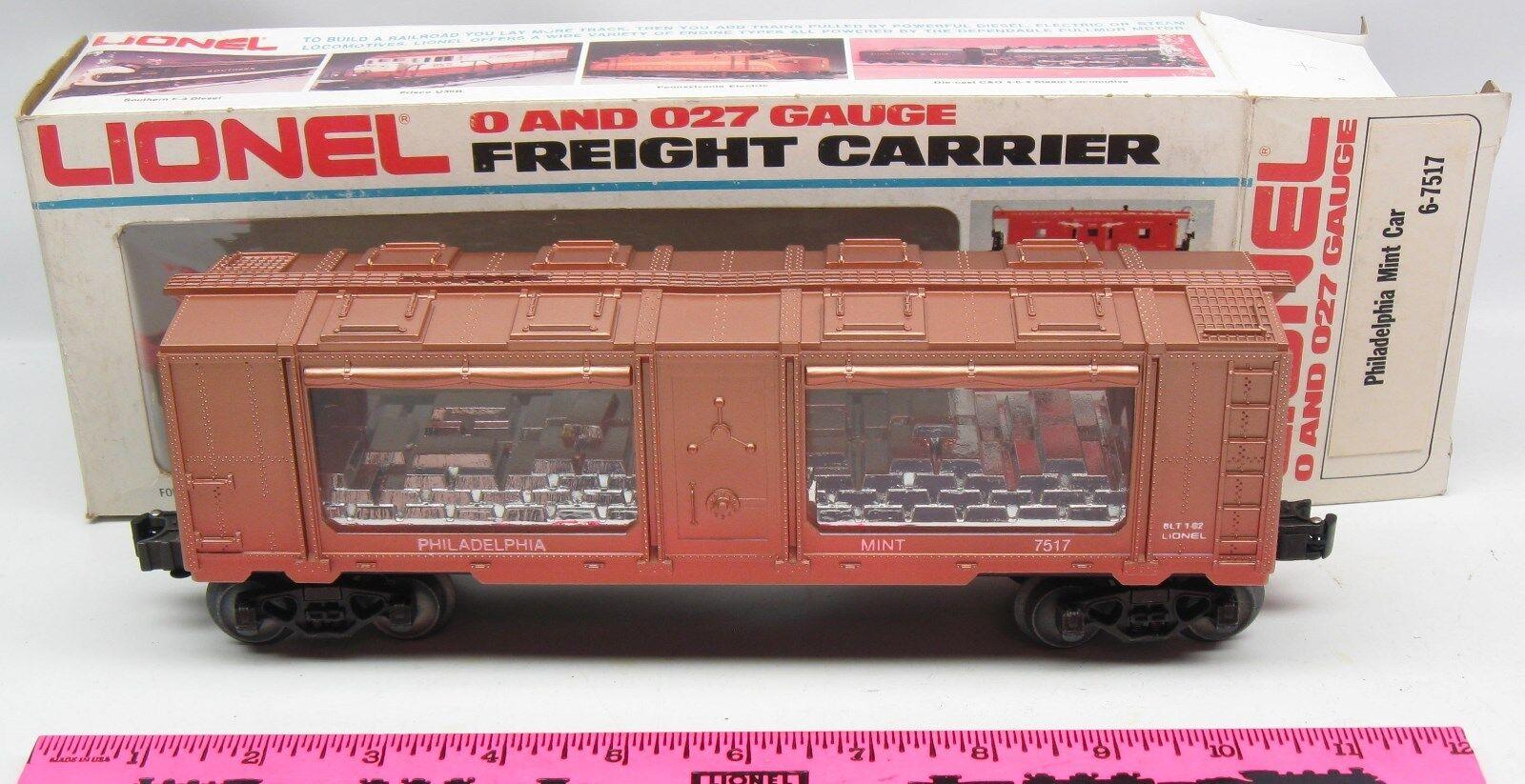 Lionel 6-7517 Philadelphia Mint car