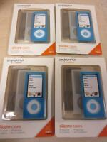 Griffin Immerse Silicone Cases For Ipod Nano 5th Gen 5g - 4 Packs Of 3 Na01386