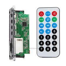 12V Bluetooth MP3 Decoder Board Modul SD Karten Slot USB FM Fernbedienung Remote
