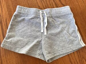 Details about Carters Girls Gray Elastic Waist Shorts Size 7 VGUC